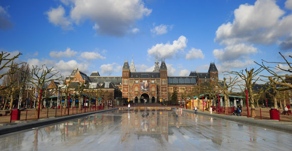 Visiting museums in Amsterdam
